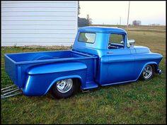 1956 Chevrolet Pro Street Pickup 496 cu