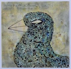 Doodles, patterning and mixed media. And you know how I feel about birds and chickens in particular, so these fab drawings by jeremy pruitt delight me to no end. I love the texture, color and depth of. Animals Images, Psychedelic Art, Bird Feathers, Art Lessons, Doodles, Year 9, Birds, Shapes, Wren
