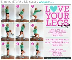 Bikini Body Mommy Challenge:Legs workout