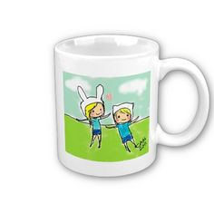It's Adventure time Coffee Mug by IMOUTO