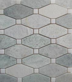 kitchen backsplash ming green marble tile