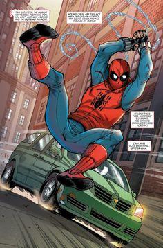 Spider-Man: Homecoming Prelude Issue - Read Spider-Man: Homecoming Prelude Issue comic online in high quality Marvel Vs, Marvel Dc Comics, Marvel Heroes, Spiderman Art, Amazing Spiderman, Best Marvel Characters, Iron Man Wallpaper, Iron Man Captain America, Superhero Movies