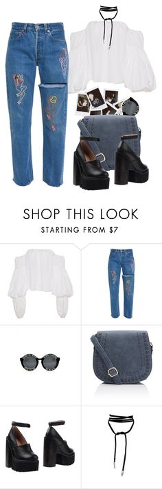 """""""sweeter than sweet"""" by marsmolly ❤ liked on Polyvore featuring Johanna Ortiz, Nasty Gal and Jeffrey Campbell"""