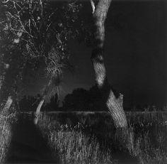 Edge of Longmont, Colorado from the series 'Summer Nights' (1979) - Robert Adams