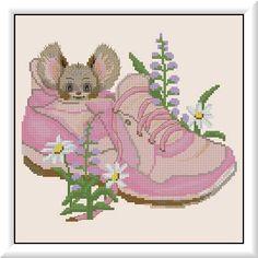 Maus im Schuh