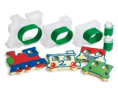 Cuisipro Cookie Cutters Train Set
