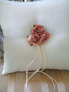 BLISS 2 Flower Girl Baskets & Ring Pillow by RoseGardenStitches