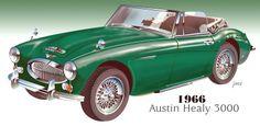 1966 Austin Healy 3000
