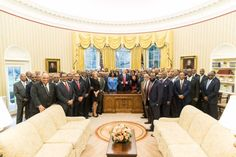 President Trump meets with HBCU presidents in Oval Office (Photo Source: Twitter/@POTUS)