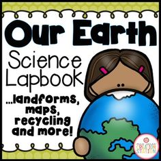 Our Earth Lapbook includes lessons on soil, landforms and a fun map lesson! Science Worksheets, Science Resources, Interactive Activities, Science Activities, Science Lessons, Kindergarten Science, Teaching Science, Student Learning, First Day Activities