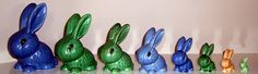 I have some and I want more. Sylvac bunnies, what's not to love?