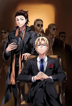 Shokugeki no Souma, Food Wars!, Title Chapter 78, Isami & Takumi Aldini, Mafia style