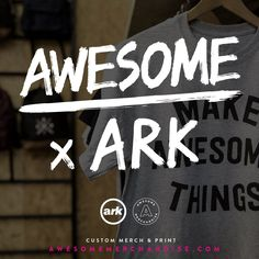 MASSIVE CONTEST! We've teamed up with Ark Clothing for a summer belter... all we need are slogan T-shirt ideas! ENTER: www.awsmr.ch/ArkSomeComp Prizes galore to be won... including £200 to spend on our website! Please like/comment/share - good luck! #ArkSomeSlogans