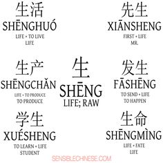 Words from Common Chinese Characters Chinese Phrases, Chinese Words, Chinese Lessons, Spanish Lessons, Learning Spanish, Learning Shapes, Spanish Activities, French Lessons, Literacy Activities