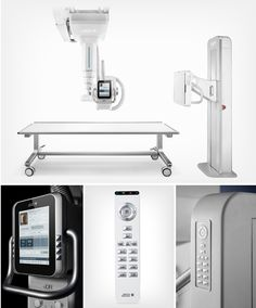 United Imaging Healthcare uDR 770i X-Ray system on Behance