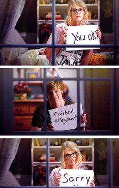 |ALLEGIANT HUMOR|<--- THERE IS NO SUCH THING AS ALLEGIANT HUMOR