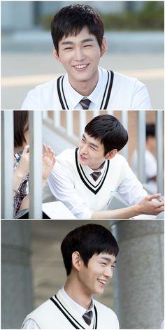 So adorably handsome   Lee Won Geun
