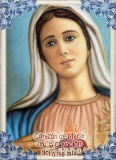 Imágenes de Galilea: Corazón de María