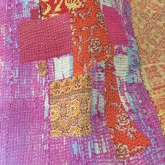 www.fabrag.jp #ラリーキルト#カンタ#クッションカバー#ベッドカバー#ヴィンテージ#パッチワーク#インド#パキスタン#マルチカバー#インテリア#刺し子#手仕事#鎌倉#由比ヶ浜#カラフル#古布#ファブラグ#fabrag#ralliquilt#vintage#India#kantha#patchwork#cushion#bedcover#fabric#Kamakura#yuigahama#colorful#interior