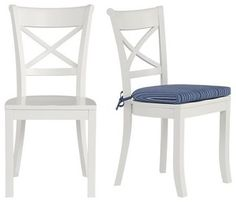 Vintner Side Chair - traditional - dining chairs and benches - by Crate&Barrel