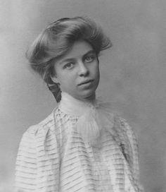 Eleanor Roosevelt in 1898