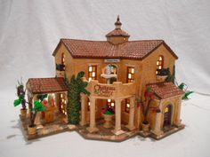 Dept 56 Snow Village Christmas --- Chateau Valley Winery 799926 --- RETIRED
