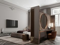 Enhance Your Senses With Luxury Home Decor Hotel Room Design, Modern Bedroom Design, Master Bedroom Design, Home Bedroom, Home Interior Design, Modern Classic Bedroom, Classic Interior, Luxury Home Decor, Luxurious Bedrooms