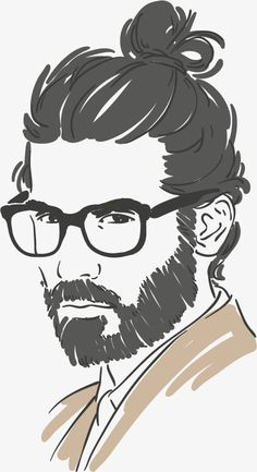 Fashion male character sketch vector material design,, Hand Painted, Sketch, Men Talking Head PNG and Vector Man Illustration, Portrait Illustration, Character Illustration, Art Illustrations, Character Design Cartoon, Character Art, Character Sketches, Animation Character, Vector Portrait