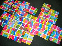 """Fine Lines: """"A Burst of Color"""" - salt and water colour! Kindergarten Art, Preschool Art, Kindergarten Worksheets, First Grade Art, Ecole Art, Collaborative Art, Art Lessons Elementary, Process Art, Art Classroom"""