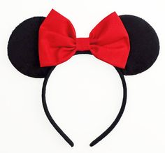 Minnie+Mouse+Ears+Disney+Ears+Red+Minnie+Mouse+Bow+by+JuicyBows