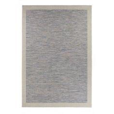 McThree Zephyr Raw Blue Indoor/Outdoor Area Rug