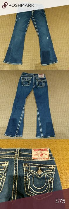 Ripstop Flenco Bootcut Jeans Stone Wash