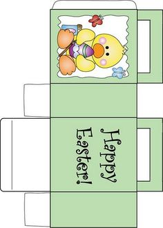 Easter bunny bag 2 easter favor box free printable ideas from cajas para imprimir lizeth gamboa lbuns da web do picasa easter printablesbox templatespaper box templatepaper boxesgift bagsprintable negle Images