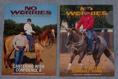 No Worries Clinton Anderson Tennessee Riding Cantering with Confidence 2 DVD