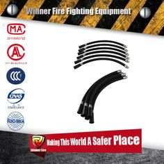 Dry Chemical Powder Fire Extinguisher Discharge Hose with cheap price