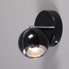 Strahler Buell 1 schwarz #Wandlampe #Wandleuchte #Lampe #Innenbeleuchtung