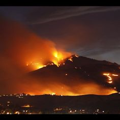 Dozens of fires sparked by lightning now make up the Wenatchee River Complex - nearly 200 homes under evacuation. Photo from viewer wgallan.