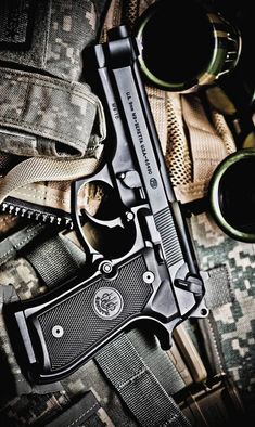 Download Pistol wallpaper by Samantha80 - e3 - Free on ZEDGE™ now. Browse millions of popular 9mm Wallpapers and Ringtones on Zedge and personalize your phone to suit you. Browse our content now and free your phone Weapons Guns, Airsoft Guns, Guns And Ammo, Armas Wallpaper, Indian Army Wallpapers, Beretta 92, Shooting Guns, Military Guns, Military Art