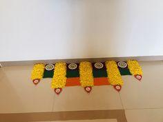 My art 😇 Easy Rangoli Designs Diwali, Indian Rangoli Designs, Rangoli Designs Latest, Rangoli Designs Flower, Rangoli Border Designs, Colorful Rangoli Designs, Rangoli Ideas, Diwali Rangoli, Rangoli Designs Images