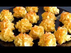 КАРТОФЕЛЬНЫЙ Праздничный гарнир из картофеля с сыром Дюшес для НОВОГОДНЕГО СТОЛА 2018 Pomme Duchesse - YouTube