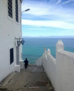 Tanger, Morocco - Can you see Spain?