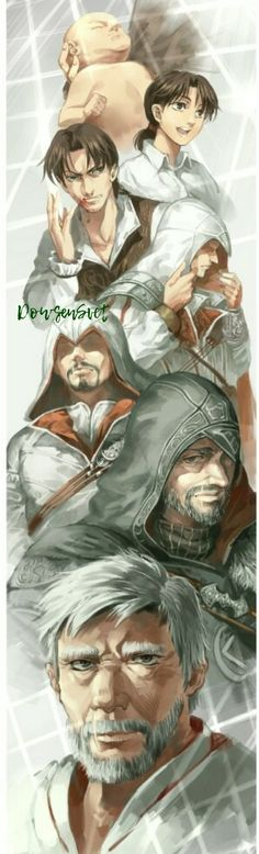 The life of Ezio Auditore da Firenze Assessin Creed, All Assassin's Creed, Assassins Creed Funny, Assassins Creed Series, Ps4, Playstation, Cry Of Fear, Fandom Games, Xbox