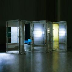 1stdibs.com   Custom designed room divider by Philippe Starck
