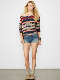 e8c1b70a71f7cd Cropped Long-Sleeved Pullover - Crewnecks  amp  Tanks Sweaters - RalphLauren.com  Denim