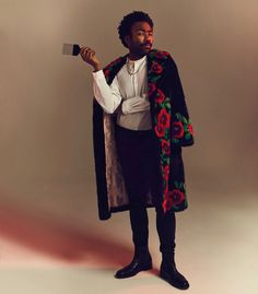 There is no future. There is only Donald Glover rocking this look. Read More: Inside the Weird, Industry-Shaking World of Donald Glover 📷: Joe Pugliese Childish Gambino, Pretty People, Beautiful People, Christopher Abbott, Frank Ocean, Fashion Mode, High Fashion, Vogue Fashion, Black Boys