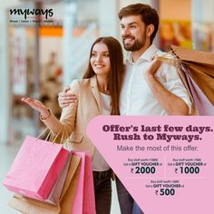 Loved by #Fashion lovers, this fabulous #Offer is going to end soon. Come today and wear your #Style.