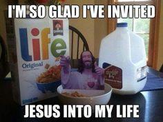 I've invited Jesus to my life  #christian #memes