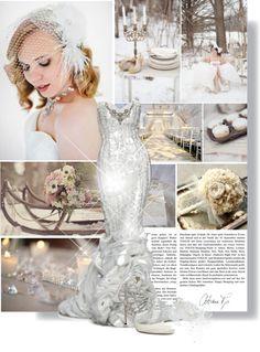 """Winter Wedding"" by xoxsunshiine23 ❤ liked on Polyvore"