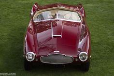 1953 Aston Martin DB2/4 Bertone Spyder Old Sports Cars, Classic Sports Cars, Classic Cars, Classic Aston Martin, Aston Martin Lagonda, Retro Cars, Vintage Cars, Antique Cars, Classic Motors