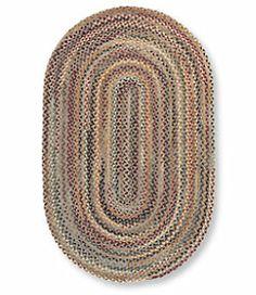 #LLBean: Rustic Wide Braided Wool Rug